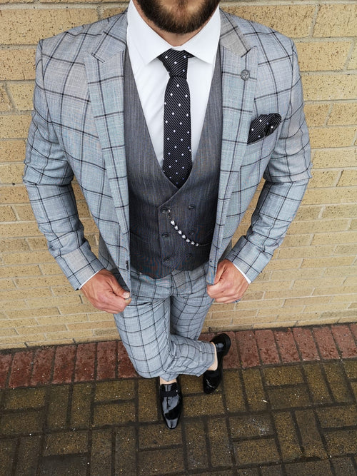 Murray - Grey 3 Piece Suit