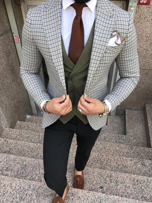 Lawson - Grey 3 Piece Suit