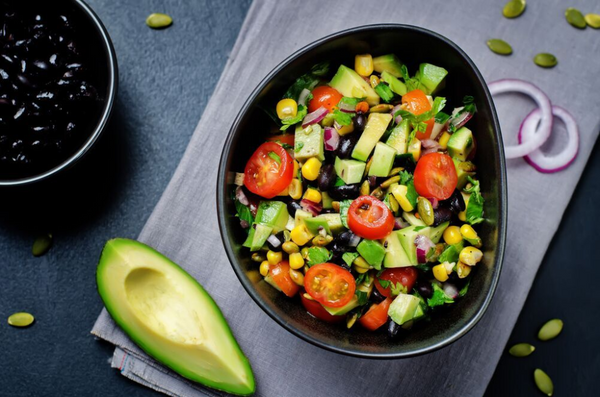 Mexican Avocado & Black Bean Salad