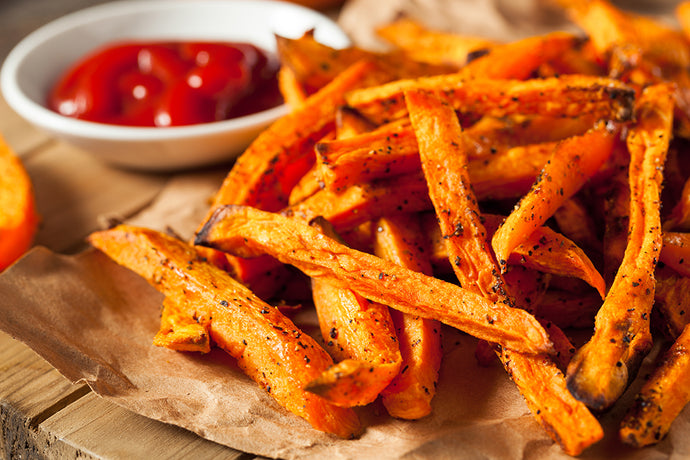 Baked Cajun Sweet Potato Fries