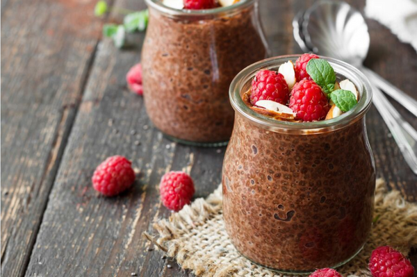 Perfect Chocolate-Chia Pudding