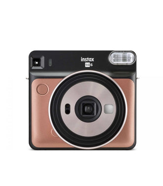 Fuji Instax Square Sq6 Brush Gold