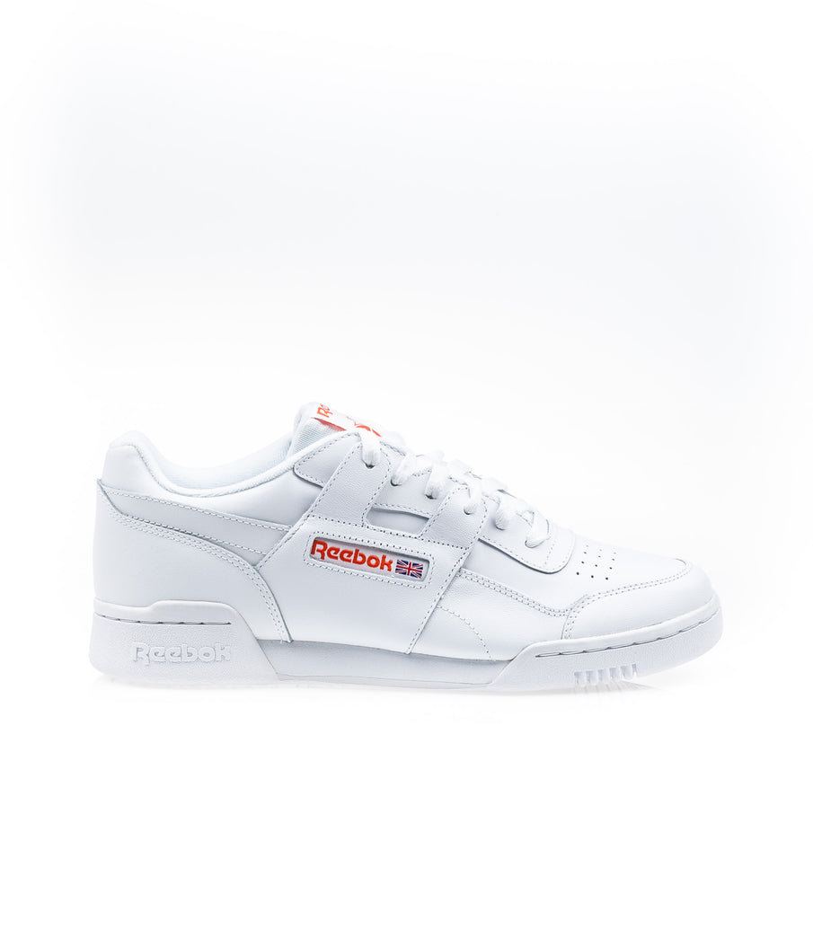 Reebok Workout Plus Mu White Orange