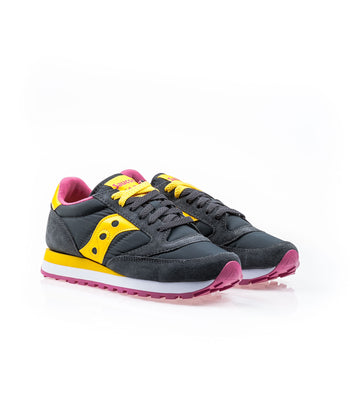 Saucony Jazz O Charcoal-Yellow