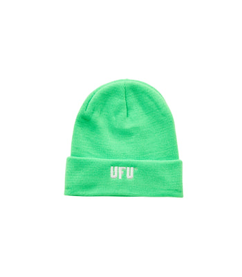 Ufu Used Future Logo Beanie Green