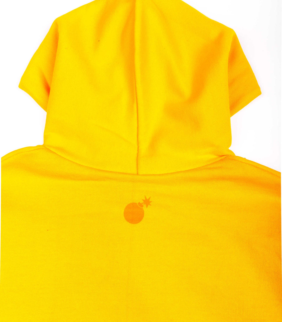 Felpa The Hundreds Beholded Bar Giallo Gold.
