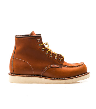Red Wing 6-Inch Classic Moc Oro Legacy Leather Uomo
