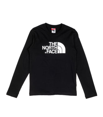 The North Face Youth Easy Tree Manica Lunga Nero