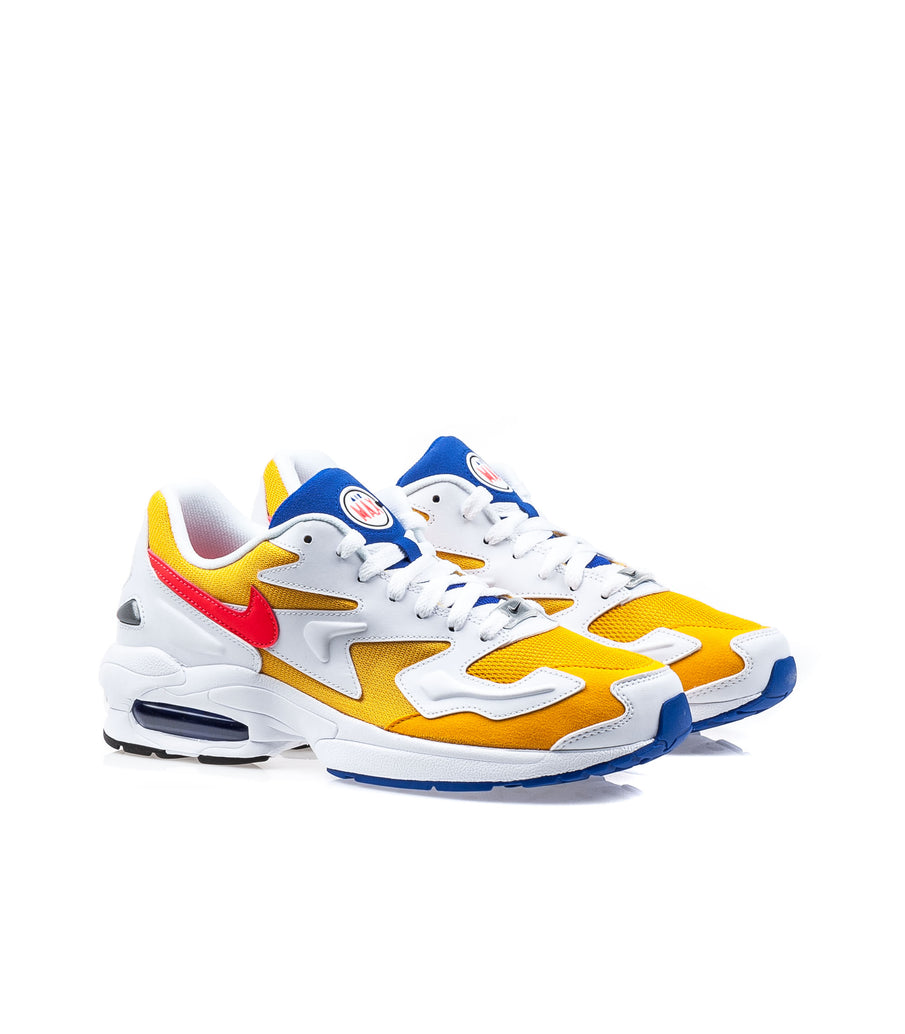 Nike Air Max 2 Light University Gold White Yellow Blue