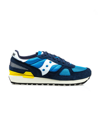 Saucony Shadow Navy Blue Yellow