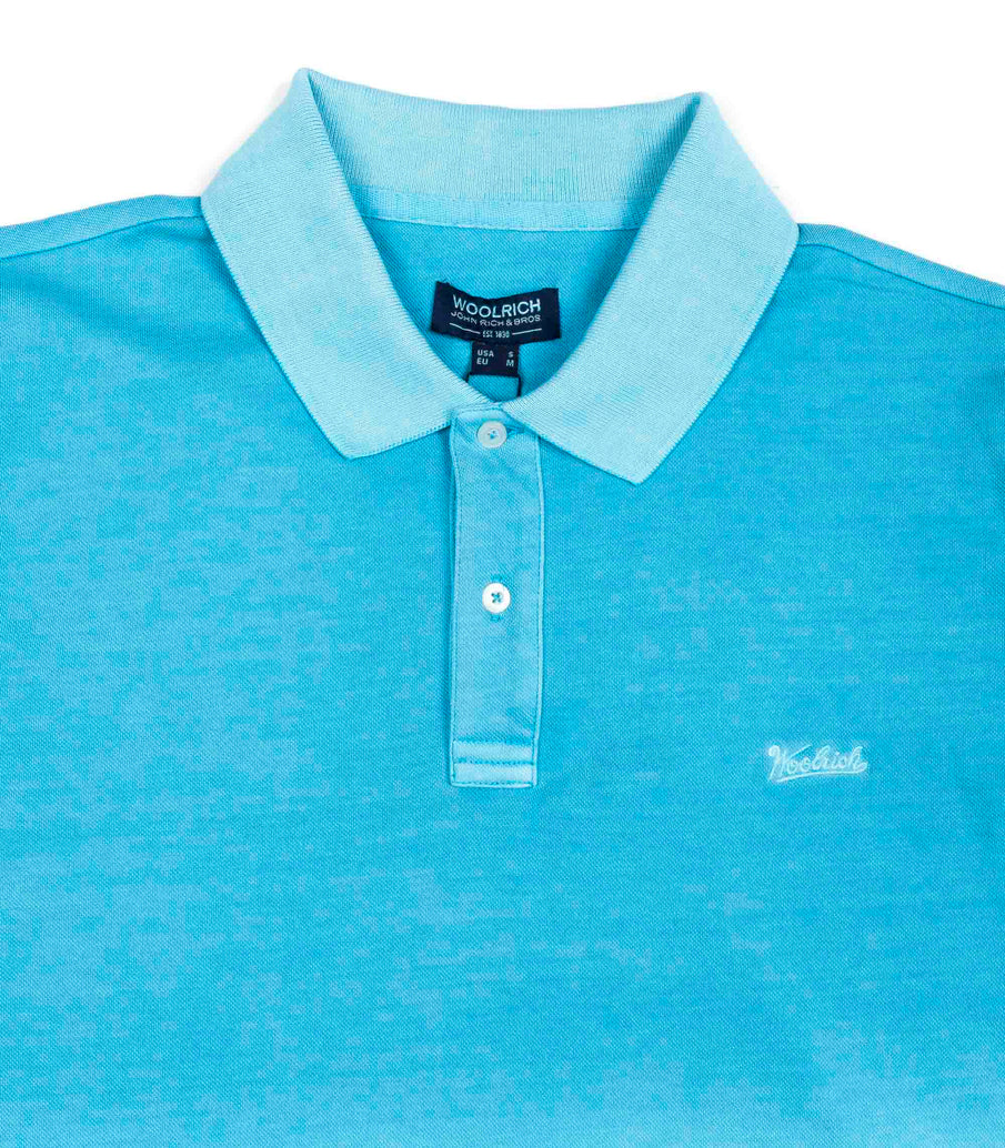 Woolrich Polo Vintage Mackinack Ligth Blue