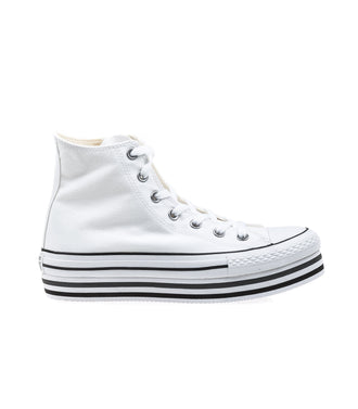 Converse Chuck Taylor All Star Platform White Scarpe Bianche