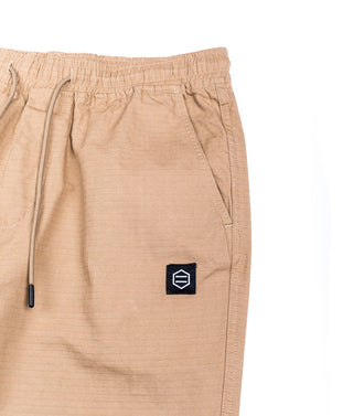 Dolly Noire Pantalone Jogger Ripsopt Beige