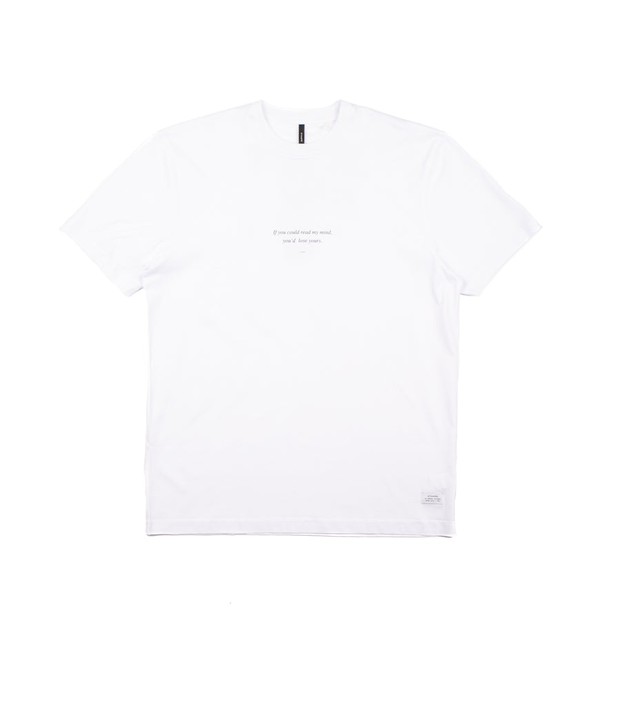 Stampd T-Shirt Read My Mind Bianco