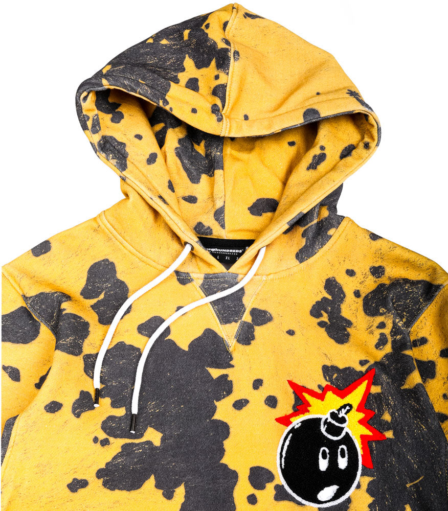The Hundreds Switchback Pullover Giallo