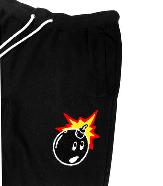 The Hundreds Camp Sweatpants Nero