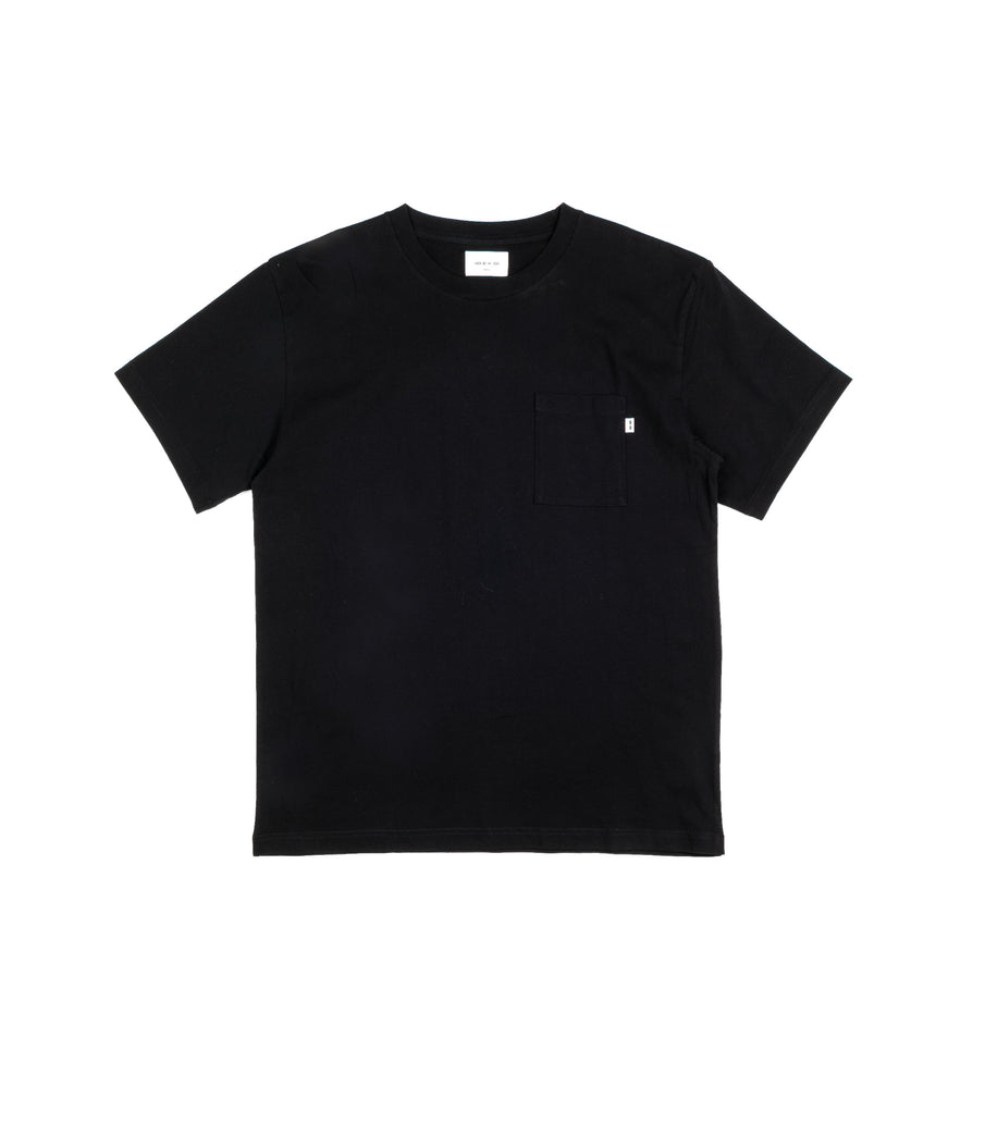 Wood Wood T-Shirt Bobo Taschino Nero