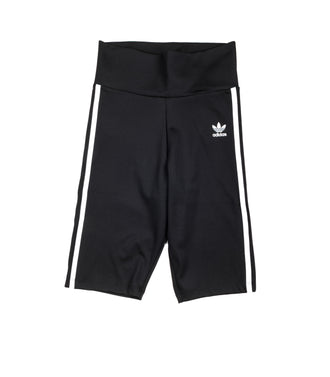 Pantaloni Corti Adidas High Waisted Shorts Tight Nero Donna