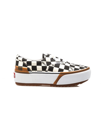 Vans Era Stacked Checkerboard Nero Bianco