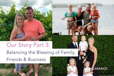 Balancing the Blessing of Family, Friends & Business: Our Story, Part 3