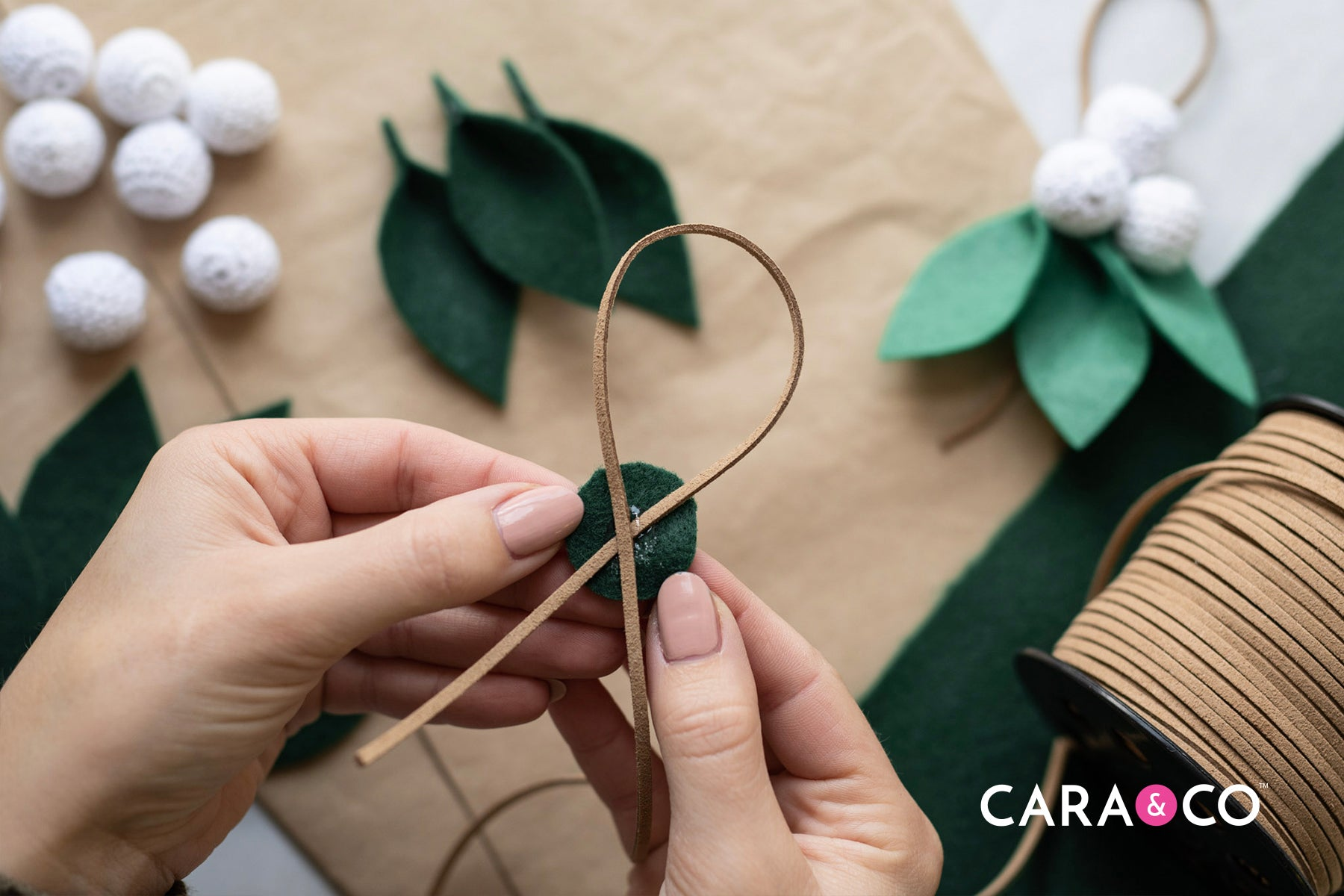 Step-by-step DIY Christmas ornament