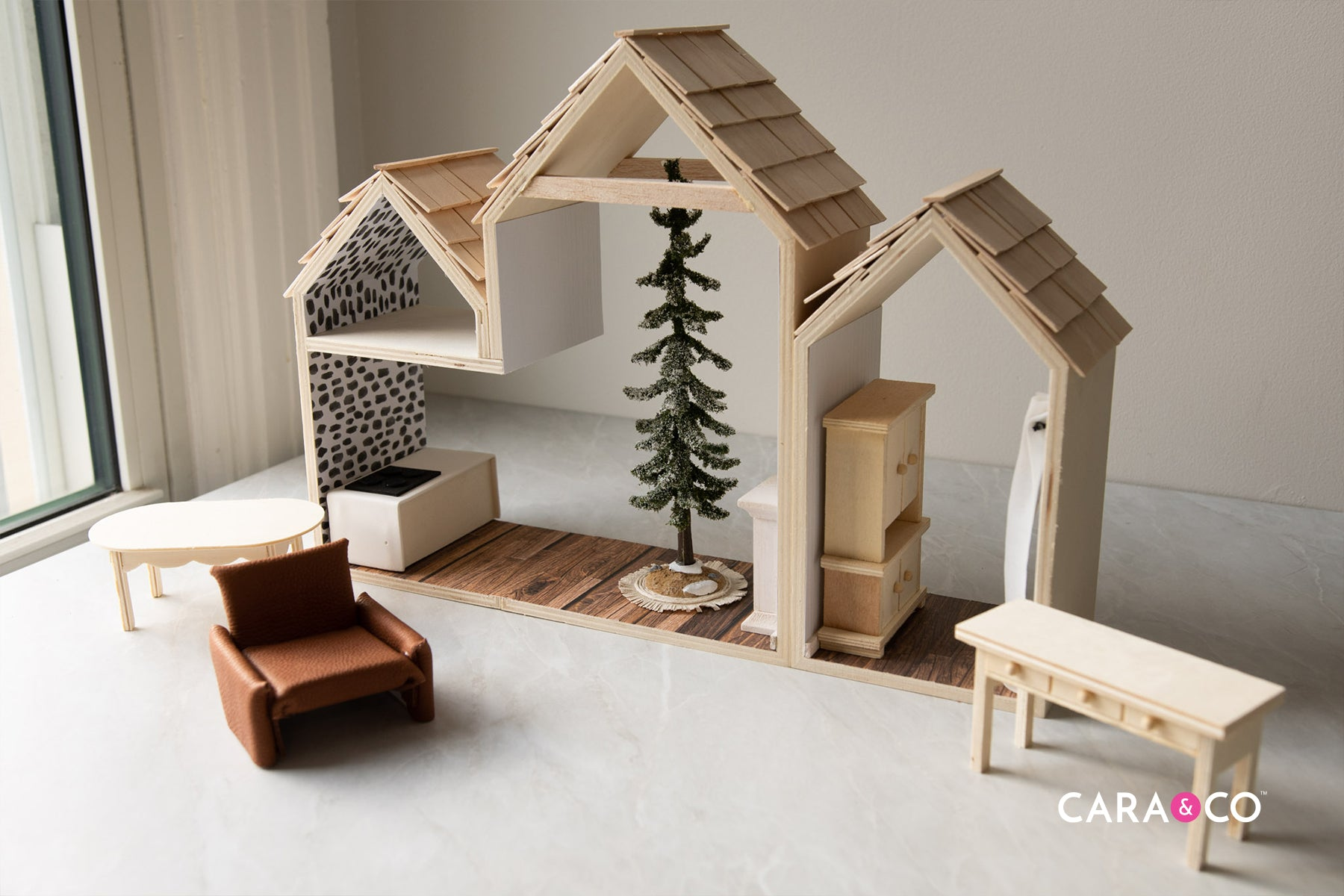 DIY dollhouse Christmas gift ideas