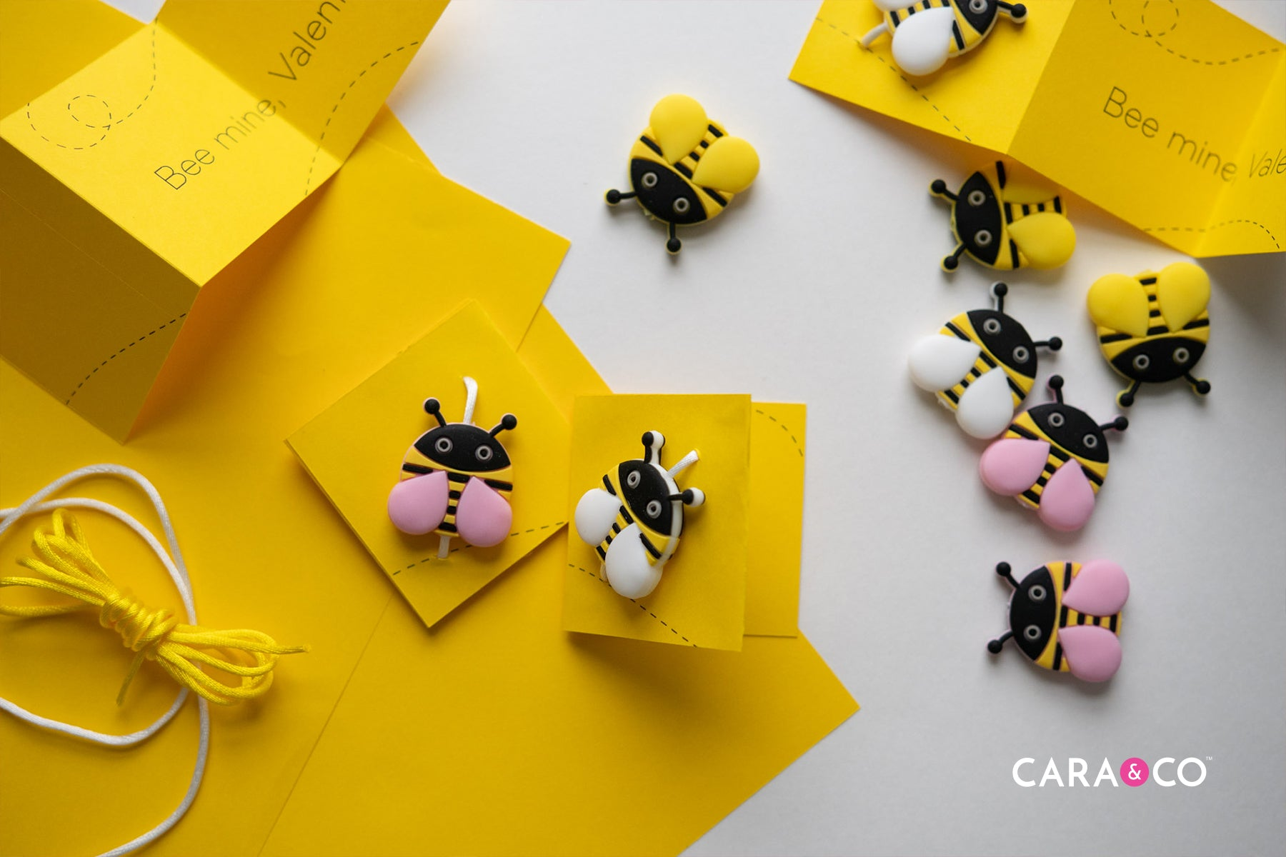 Cute Bee Mine Valentines Day card