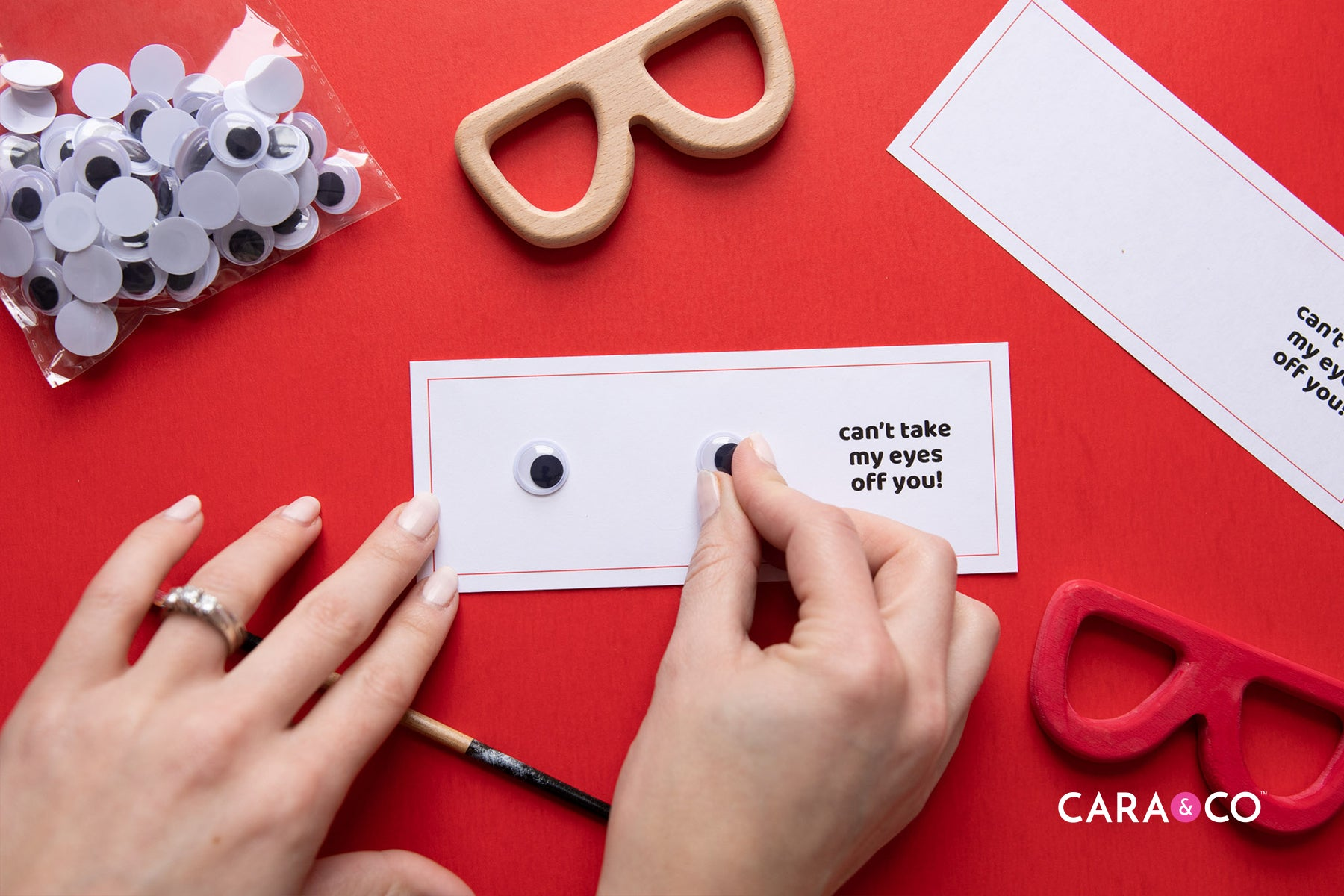 Valentines Craft - Can't Take My Eyes Off Of You!