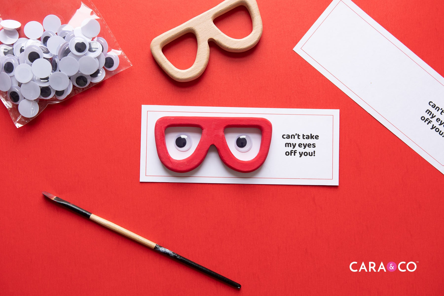 Valentines Craft Ideas - Can't Take My Eyes Off Of You