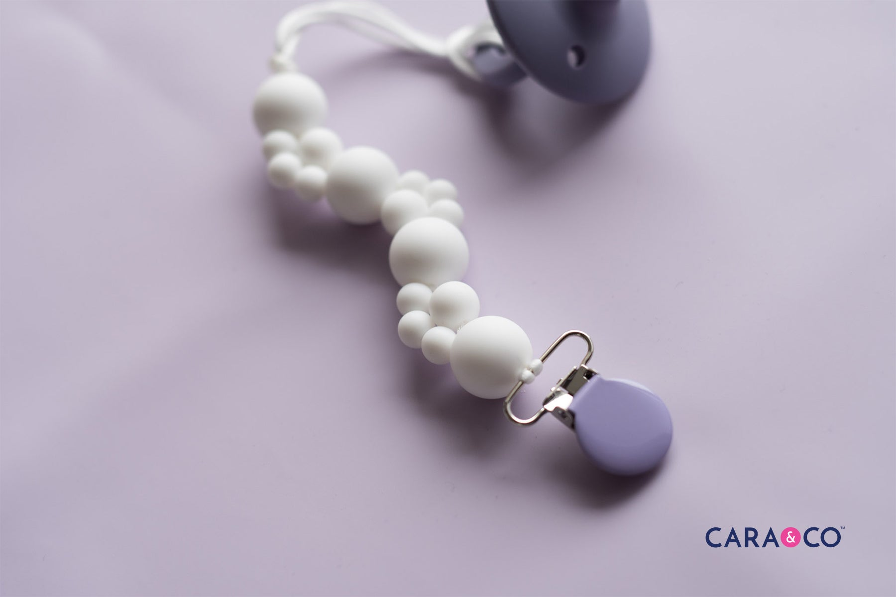 Modern Soother Clip Design