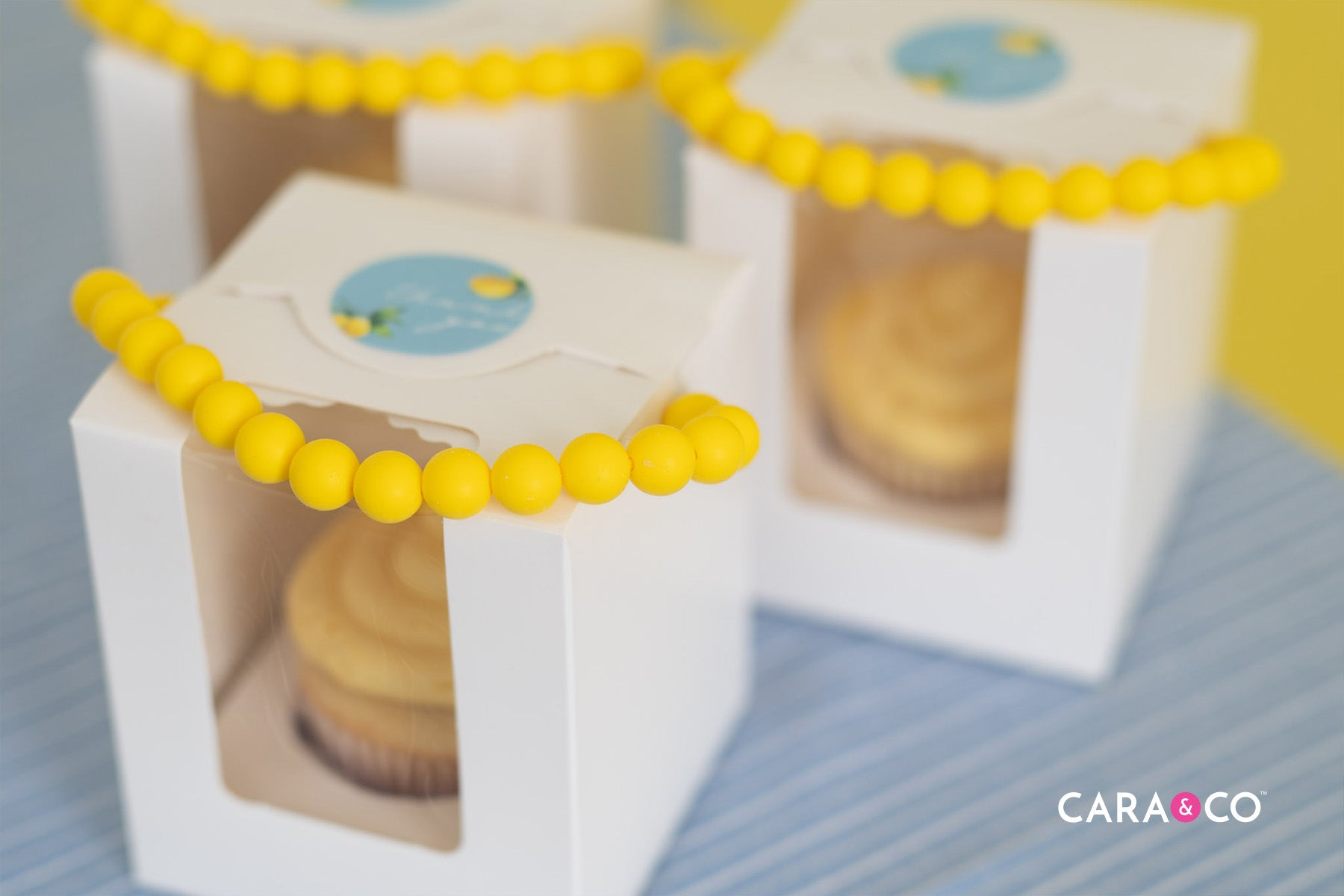 Lemon Buttercream Cupcake Favours
