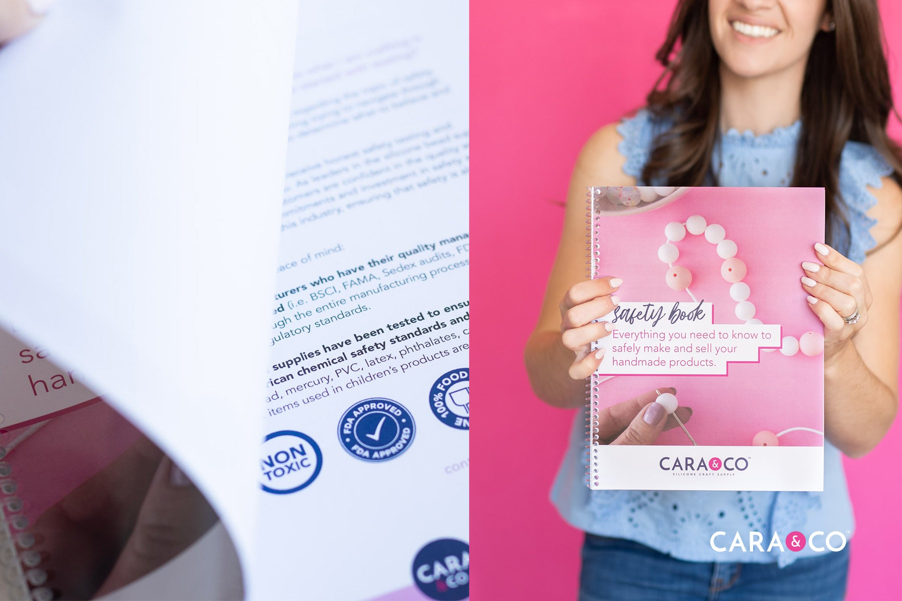 Safety e-book for your handmade business - Cara & Co