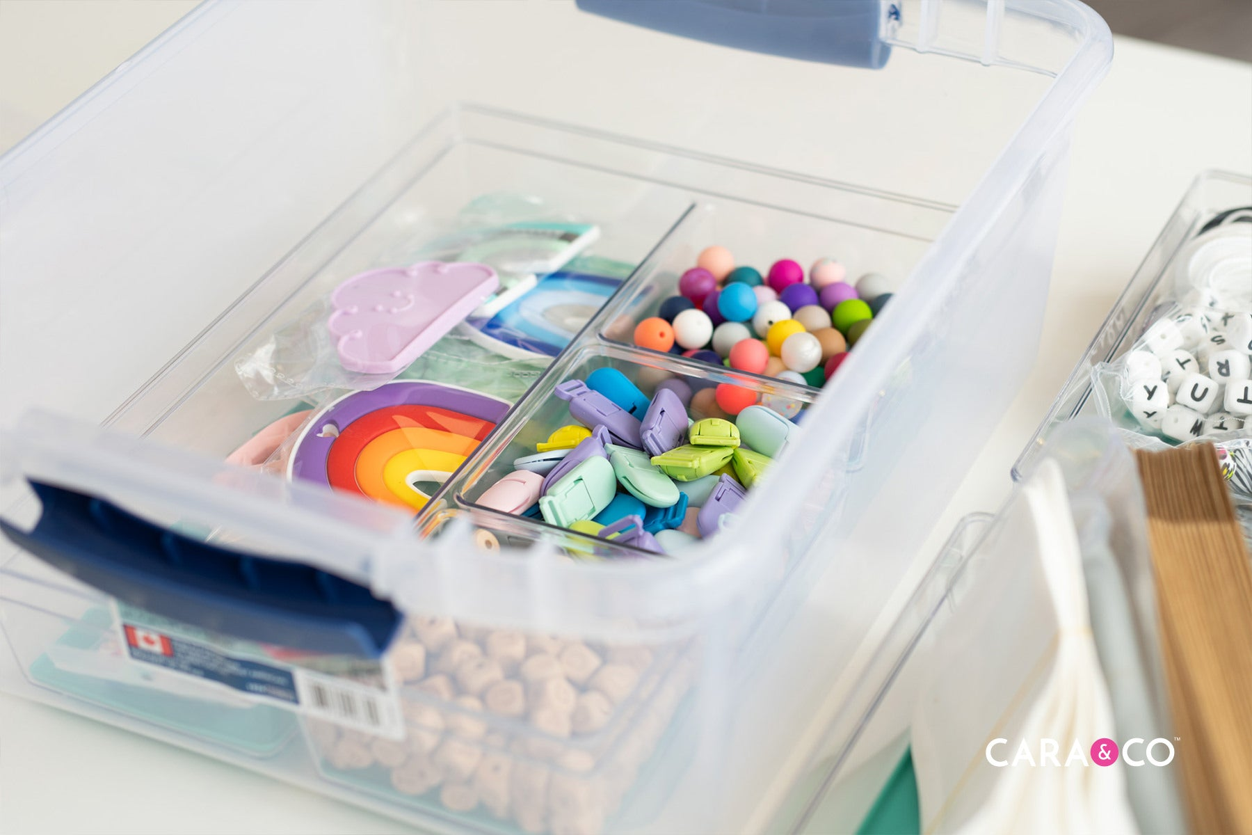 Storage and organization solutions for your handmade home business