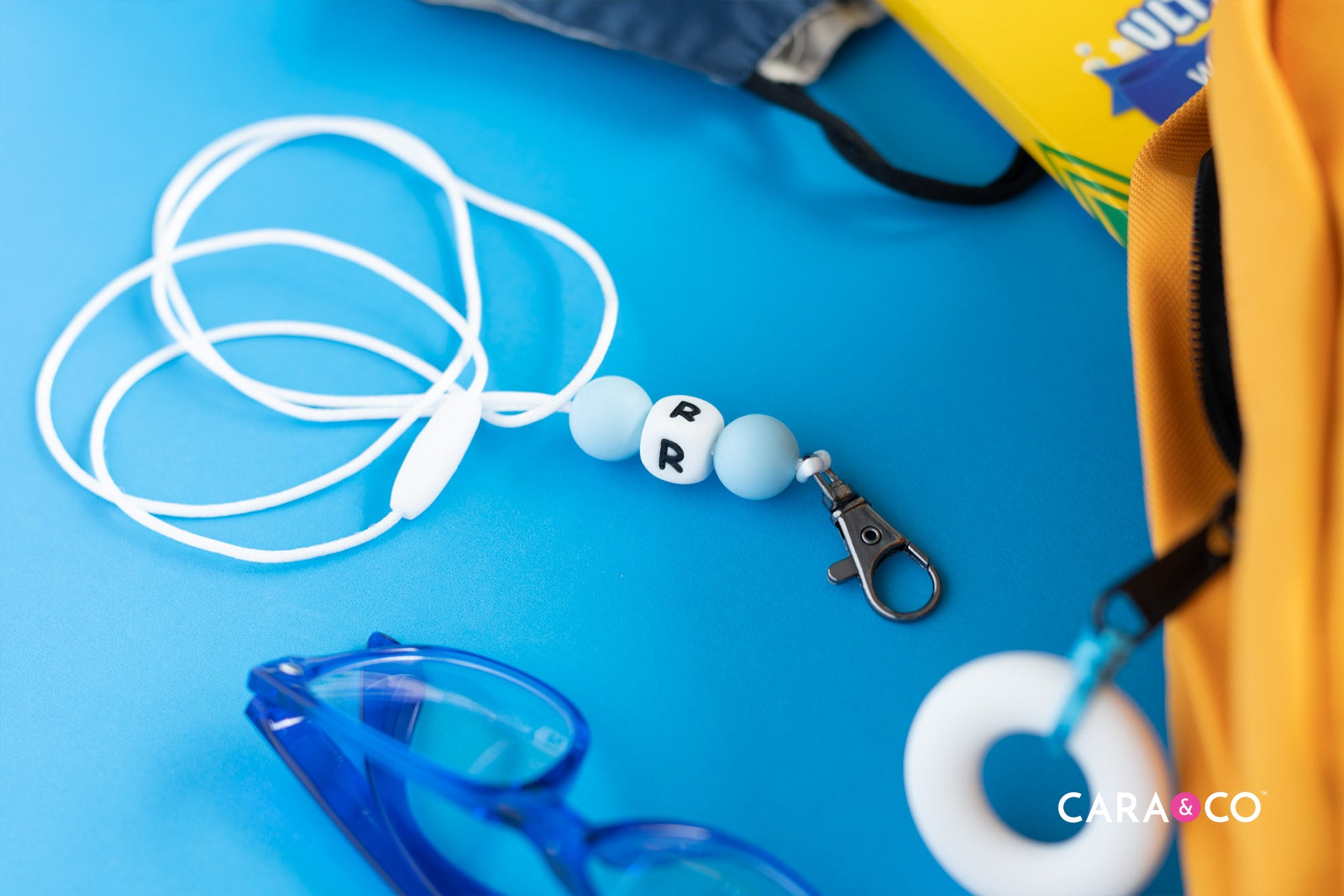 Back to school in style - Lanyard for holding glasses