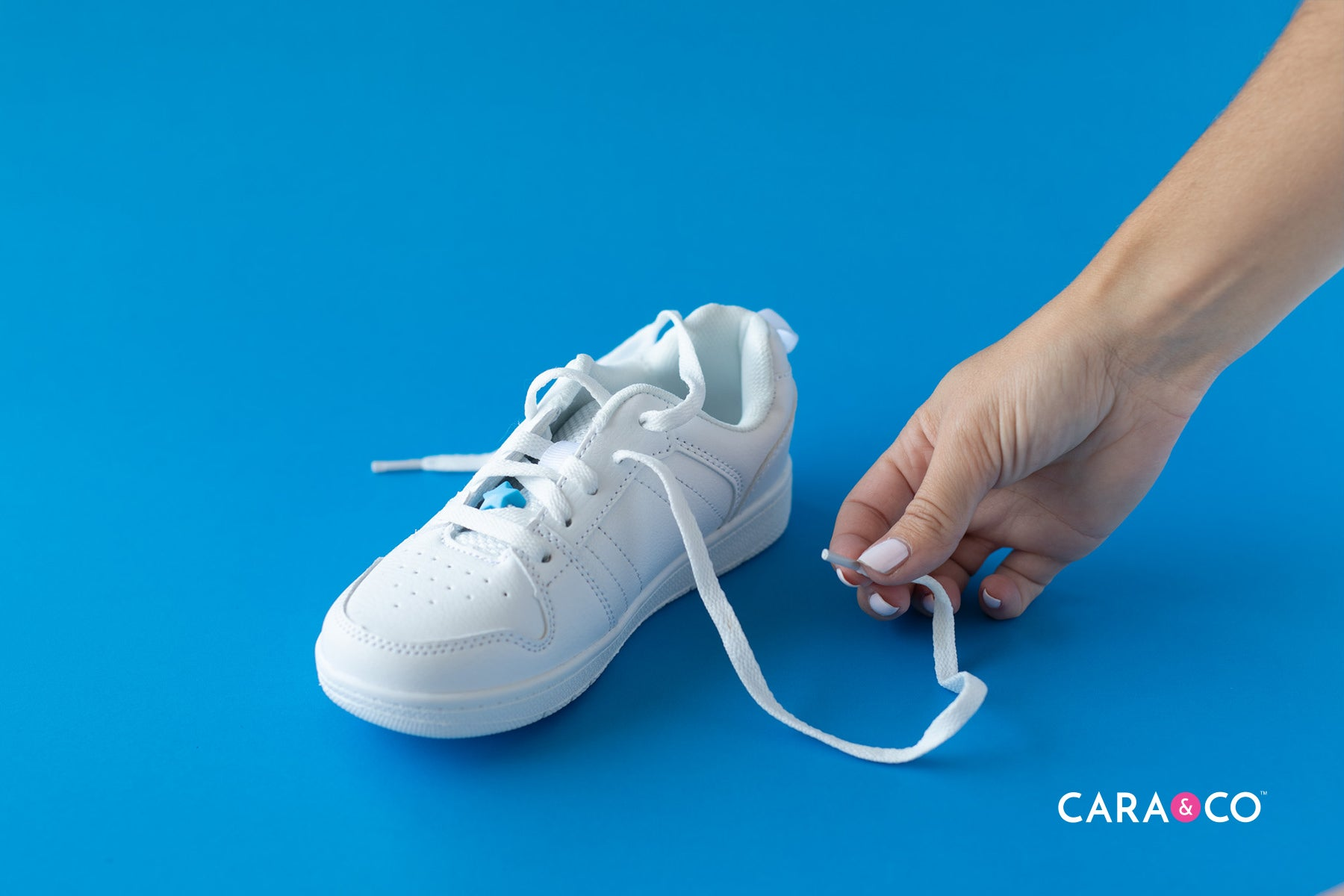 Back to school in style! - Shoelace bling!