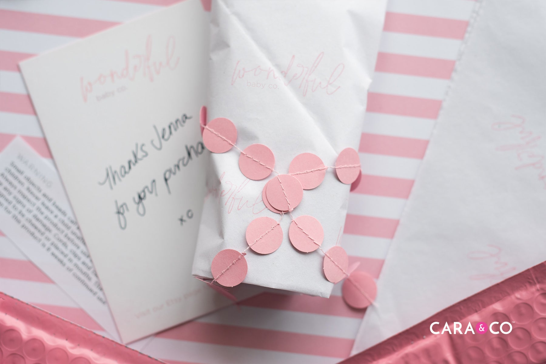 Packaging hacks for your handmade business - Handwritten Thank-You notes!