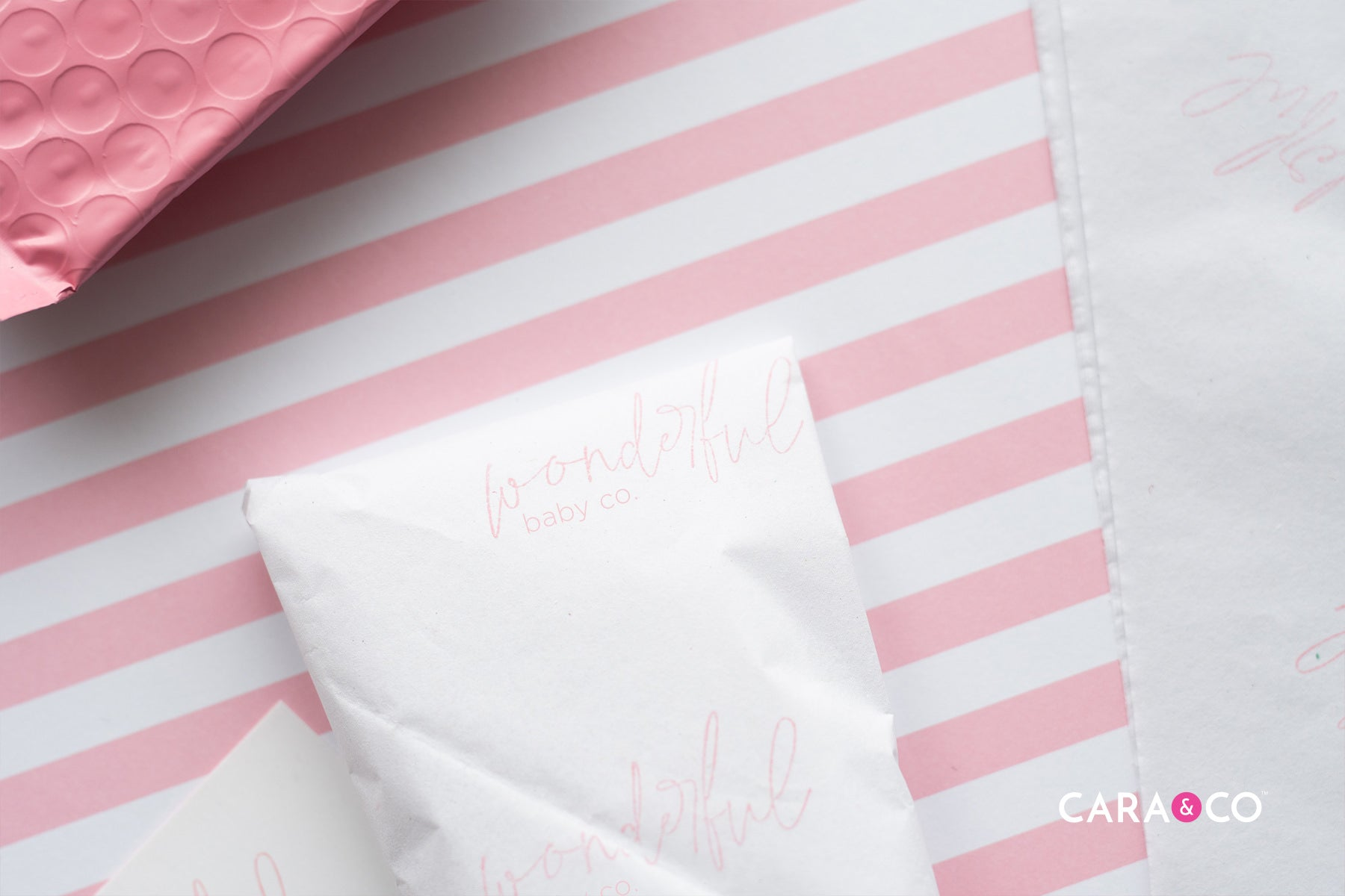Packaging Hacks - Customized business stamps - Cara & Co Blog