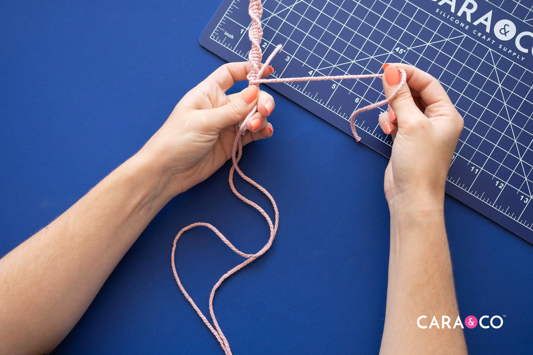 Easy macrame crafts - DIY phone charger cord