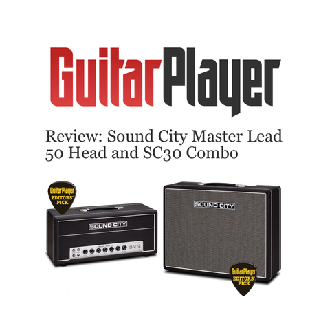 Sound City's brand-new Master Lead 50 Head and SC30 Combo deliver tone in its purest form.