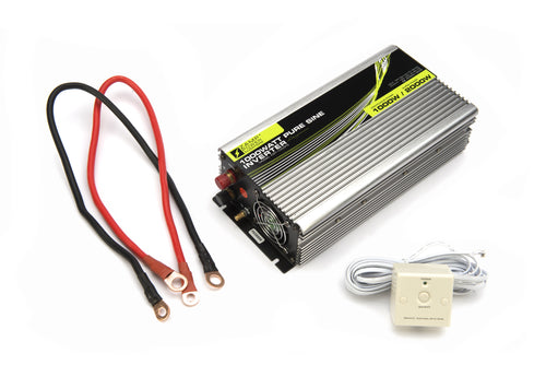 Zamp Solar 1000 Watt Pure Sine Wave Power Inverter