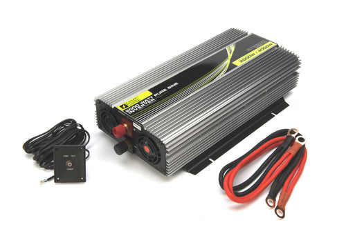 Zamp Solar 2000 Watt Pure Sine Wave Power Inverter