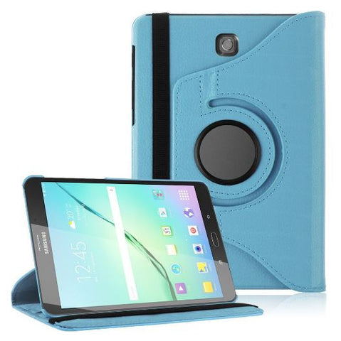 "Samsung Galaxy Tab S2 8.0"" - 360 Rotating Leather Stand Case Smart Cover [Pro-Mobile]"
