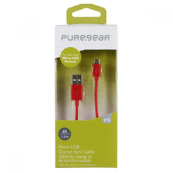 PureGear - Micro USB Data Cable - 1.2 Meter