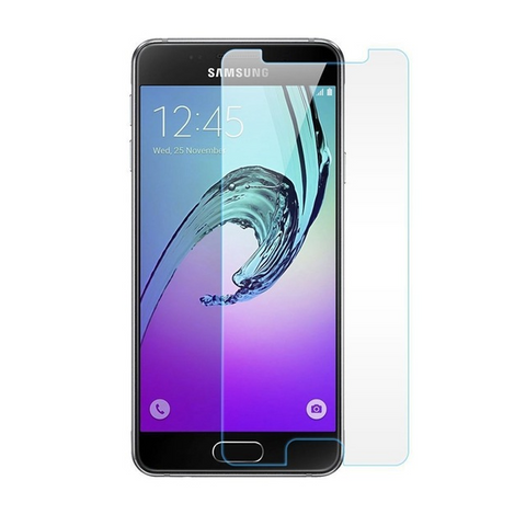 Samsung Galaxy J3 Prime 2017 - 2X Premium Real Tempered Glass Screen Protector Film [Pro-Mobile]