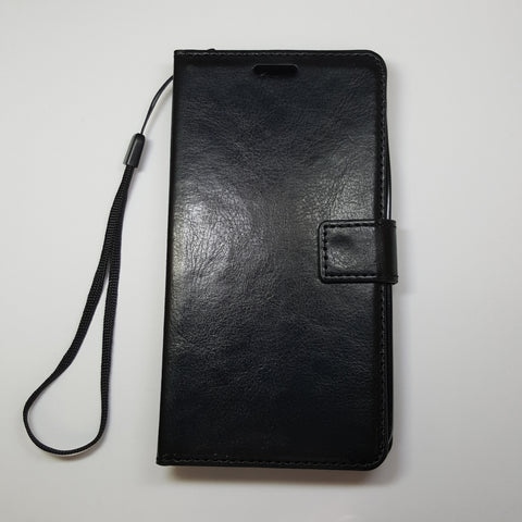 HuaWei Y6 - Book Style Wallet Case With Strap