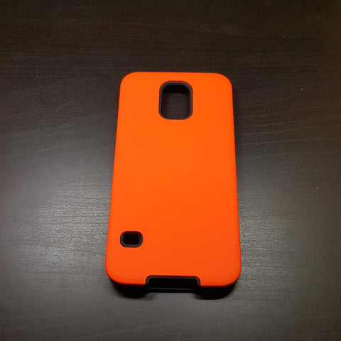Samsung Galaxy S5 - Silicone With Hard Back Cover Case