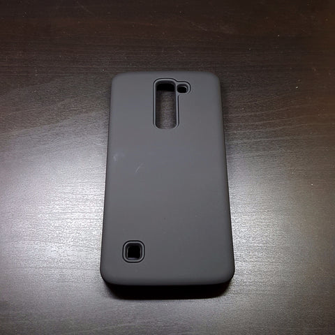 LG K7 - Silicone With Hard Back Cover Case