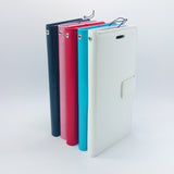 LG G3 - Magnetic Wallet Card Holder Flip Stand Case Cover with Strap [Pro-Mobile]