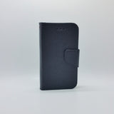 Universal XXL (5.3-5.7 inch) - Magnetic Wallet Card Holder Flip Stand Case with Strap [Pro-Mobile]