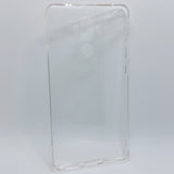 HuaWei Mate 9 - Clear Transparent Silicone Phone Case With Dust Plug [Pro-Mobile]